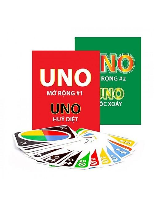 Combo UNO cơ bản + 2 bộ mở rộng