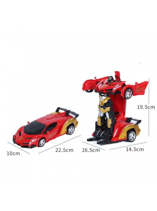 Xe robot biến hình Transformers điều khiển từ xa PIN SẠC