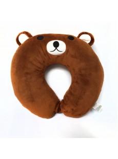Gối cổ Gấu Brown
