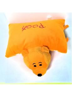 Gối đi xe máy cho bé - Gấu Pooh