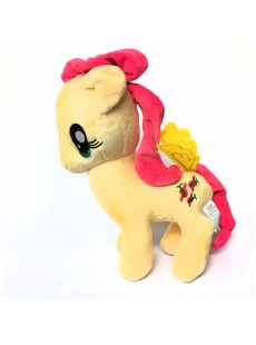 Ngựa Pony  màu vàng kem 30cm
