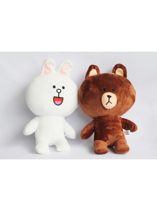 Gấu Brown và Thỏ Cony nhồi bông