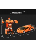 Xe robot biến hình Transformers điều khiển từ xa size 25cm